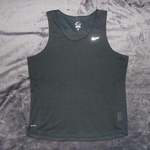 Men's Nike Dri-Fit Miler Running Tank L